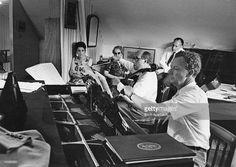 British composer <a gi-track='captionPersonalityLinkClicked' href=/galleries/search?phrase=Benjamin+Britten&family=editorial&specificpeople=213314 ng-click='$event.stopPropagation()'>Benjamin Britten</a> (1913 - 1976, right) accompanies Russian cellist <a gi-track='captionPersonalityLinkClicked' href=/galleries/search?phrase=Mstislav+Rostropovich&family=editorial&specificpeople=214711 ng-click='$event.stopPropagation()'>Mstislav Rostropovich</a> in his 'Cello Sonata', in the composer's…