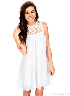 When She Smiles Ivory Dress | Monday Dress Boutique