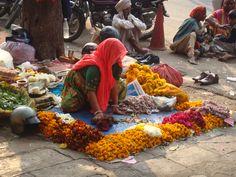 Local trader Varanasi #India