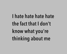 Image via We Heart It https://weheartit.com/entry/156345087 #crush #girl #hate #love #quotes #text #words