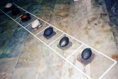"Margarita Ecclessiaarhou /Gre/  ""Olives"" 9 Eylul Universty Ceramic Symposium 1997 (Erdinç Bakla archive)"