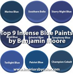 Benjamin Moore Navy Paint Color Ideas By Way2much Home Improvement Pinterest Colors And