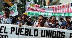 Mineros entran en paro por tiempo indefinido en 17 departamentos, entre ellos el Valle del Cauca. El ministro de Minas, Federico Renjifo, afirma que esa protesta es injusta, ya que el Gobierno no está persiguiendo a los mineros artesanales ni a los legales. Más información:  http://www.elpais.com.co/elpais/economia/noticias/mineros-entran-paro-por-tiempo-indefinido-17-departamentos