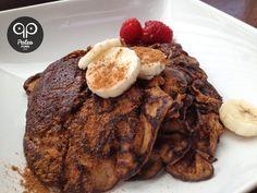 Paleo Pancakes: Banana & Almond Butter paleo breakfast pumpkin
