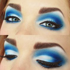 If only I had the balls to wear my makeup like this
