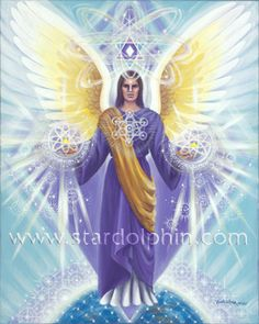 Archangel Metaatron | 79 Metatron: Archangel of Sacred Geometry and Light