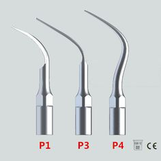 New 3Pcs/lot Ultrasonic  Dental Scaler Tips P1 P3 P4 With EMS/ WOODPECKER Compatible Perfect Tooth Whitening Dental Tools