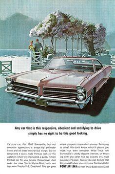 Pontiac 1965 advertisement.