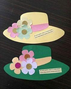 Paper Flower Bouquet Craft for Kids Spring Crafts For Kids, Mothers Day Crafts For Kids, Mothers Day Cards, Summer Crafts, Diy For Kids, Diy And Crafts, Preschool Crafts, Easter Crafts, Art N Craft