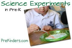 Science Experiments in Pre-K