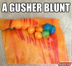 gusher blunt