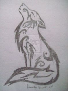 Wolf Drawings Howling | standards of western art skin art loading project does seeing  #celtic #tattoos