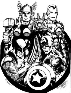 Avengers by George Perez *