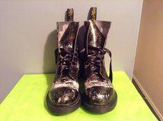 Dr. Martens 14610 Comfort Military Combat Boots Women's Size 8 | eBay