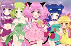 Tokyo Mew Mew Ichigo, Manga Anime, Anime Art, Mermaid Melody, Powder Puff, Anime Shows, Totoro, Magical Girl, Kawaii