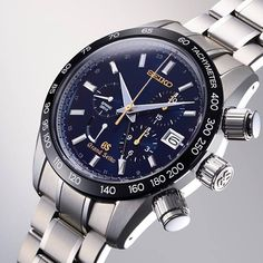 Grand Seiko 55th Anniversary Spring Drive Chronograph Limited Edition. Featuring enhancements in each of these essential characteristics of Grand Seiko: precision, durability, legibility and beauty. Only 400 pieces available.