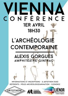 #conference #Vienne #Bordeaux #Artothem #France mu production TdeBqgs