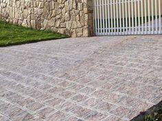 calçadas com pedra de encaixe - Pesquisa Google