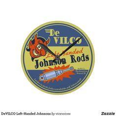 DeVILCO Left-Handed Johnsons Round Clock