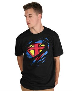 This would make a great gift....Invincible - Christian Mens Shirts for $19.99 | C28.com