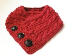 Cabled Neck Warmer | Craftsy