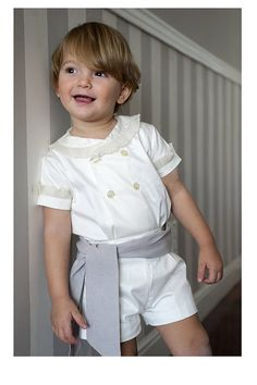 Teresa y Leticia Page Boy, Golden Child, Prince Charming, Summer Girls, Boy Fashion, Boy Outfits, Rompers, Boys, Model