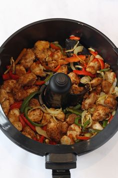Actifry Salt & Pepper Chicken & My Fussy Eater & Easy Kids Recipes Source by brgjane Salt And Chilli Chicken, Recipes With Chicken And Peppers, Chinese Chicken Recipes, Chicken Stuffed Peppers, Chicken Soup, Actifry Recipes Slimming World, Healthy Chicken Recipes, Cooking Recipes, Kid Recipes