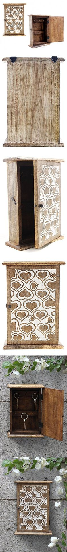 Decorative Key Box For The Wall Impressive Handmade Decorative Wooden Wall Mounted Key Cabinet With Glass Decorating Design