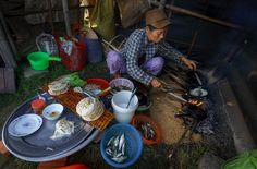 Bánh khoái đầm Chuồn Phá Tam Giang  #Travel #VietNam #PhaTamGiang #DamChuon #Musteat #Dacsan