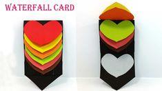 Pop Up Card: Heart  learn how to make a popup heart greeting card Handma...
