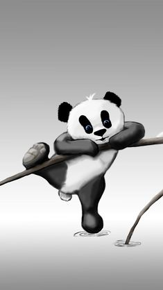 Best Of Baby Panda Bear Wallpaper Panda Wallpaper Iphone, Cute Panda Wallpaper, Cartoon Wallpaper Hd, Animal Wallpaper, Colorful Wallpaper, Wallpaper Desktop, Mobile Wallpaper, Cartoon Baby Animals, Cartoon Panda