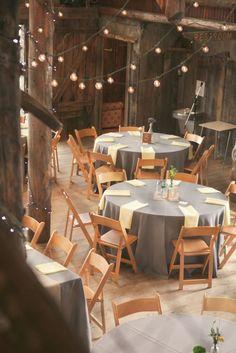 Rustic simple barn wedding table setting decor / http://www.deerpearlflowers.com/barn-wedding-reception-table-decoration/