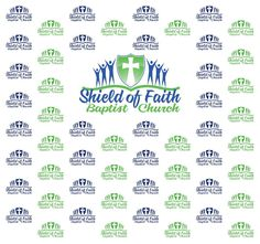 Shield of Faith Baptist Church Step and Repeat Banner 266873 | www.sign11.com