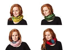 Tyndt Rør. 4 different colour ways.