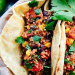 Crockpot Mexican Quinoa Tacos - Chelsea's Messy Apron
