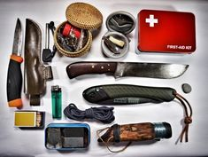 "Keep in mind that you won't be able to call ""time out"" and run to Walmart to stock up! Look over this list of necessities and think about what you may want to pick up. #survival #tools #kit"