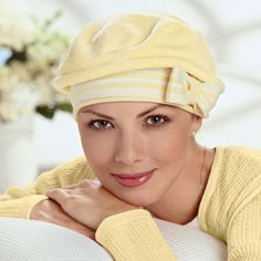 Bought this one in black & white... love it!  American Cancer Society : Sailor Stripe Beret