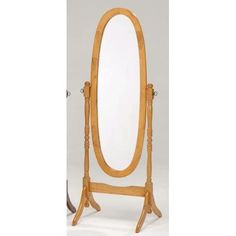 Cheval Mirror in Oak Oversized Wall Mirrors, Cheval Mirror, Standing Mirror, Solid Wood, New Homes, Wall Decor, Home Decor, Wall Hanging Decor, Floor Standing Mirror
