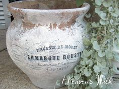 Brag Monday - French Clay Pots and French Tin - The Graphics Fairy