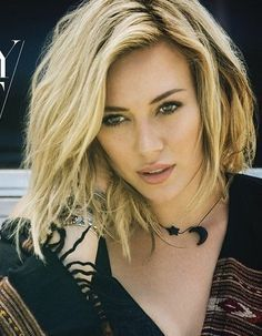 hillary duff short hair - Google Search