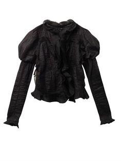 Ostia Vintage ruffle ramie jacket | Isabel Marant | MATCHESFAS...