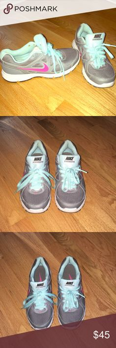 Nike Gym Shoes Barely worn and stylish Nike Gym Shoes Nike Shoes Athletic Shoes