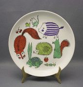 Nooan arkki, by Gunvor Olin-Grönqvist Kitchenware, Tableware, Shopping Places, Old Antiques, Finland, Glass Art, Retro Vintage, Decorative Plates, Porcelain