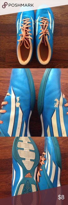 Adidas indoor soccer shoes Adidas f10. Size 7 1/2 men/ 8 1/2 women adidas Shoes
