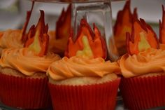 Love these candy melt flames!