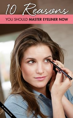 We don't know about you, but we like to think that eyeliner is one of the best parts of our beauty routine. No matter what state our face is in, this small-but-mighty product manages to perk up our mugs in no time. Now, we understand that there are still those out there who have not embraced eyeliner and all its possibilities, and we wanted to make yet another attempt to change your unbelieving minds. Check out our reasoning behind making eyeliner your new BFF.