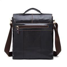 2018 Nová vintage First Layer kožené klapky Cross Body Bag Vertikální  pánské kožené tašky Vysoce kvalitní rameno Messenger Bag be44b2f4c63