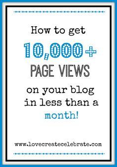 5 Ways to Grow Your Blog - Love Create Celebrate