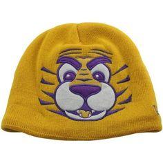 New Era LSU Tigers Toddler Mascot Knit Beanie - Gold New Era. $15.95