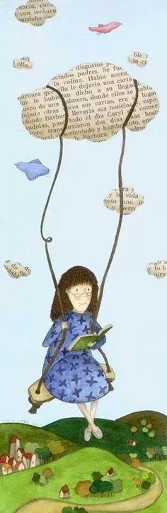 Books in the clouds    Si puedo leer, puedo viajar, puedo soñar...